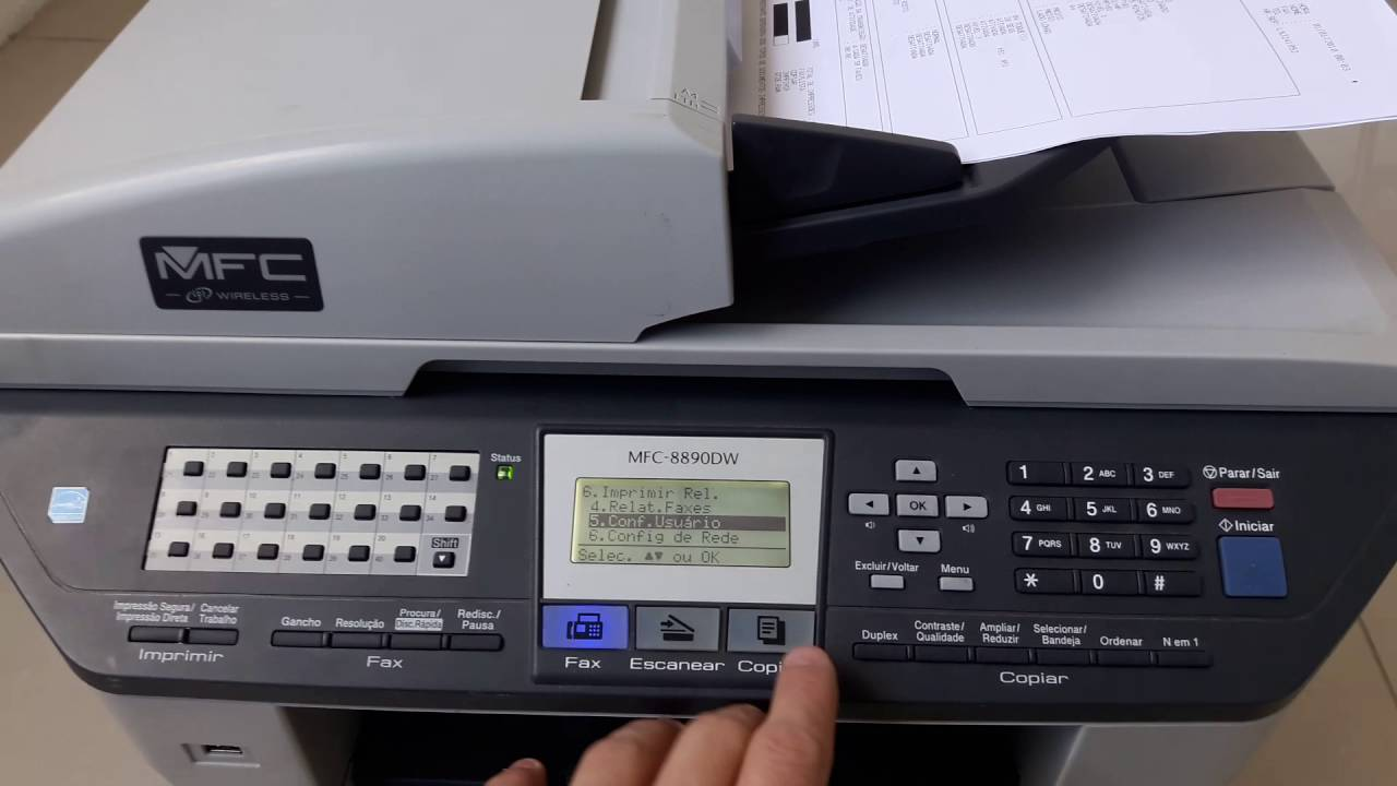 Brother MFC-8890DW Printer Windows 7