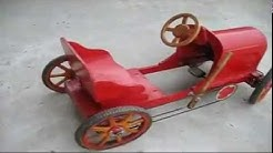 Awesome Pedal Car, Human Powered Car
