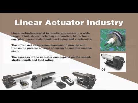 Linear Actuators - A Quick Introduction