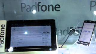 Asus shows off its PadPhone