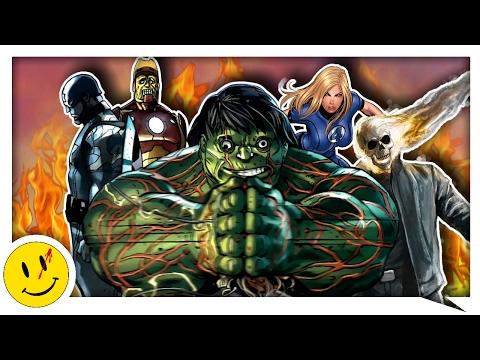 Эра Х: Мстители (ЖУТКАЯ альтернативная версия) Marvel Comics