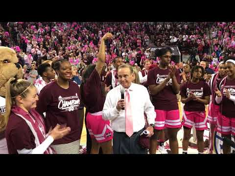 MSU Women's Basketball Team Wins The SEC Championship