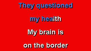 Ted Nugent - Just What The Doctor Ordered - Karaoke