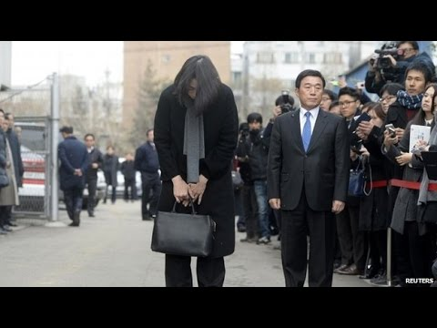 'Nut rage': Former Korean Air executive visits air stewards