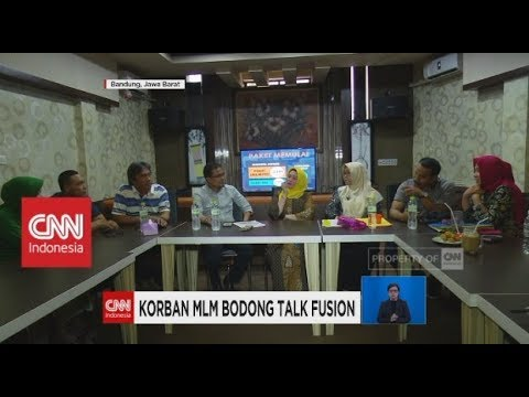 Belasan Warga Bandung Menjadi Korban MLM Bodong Talk Fusion