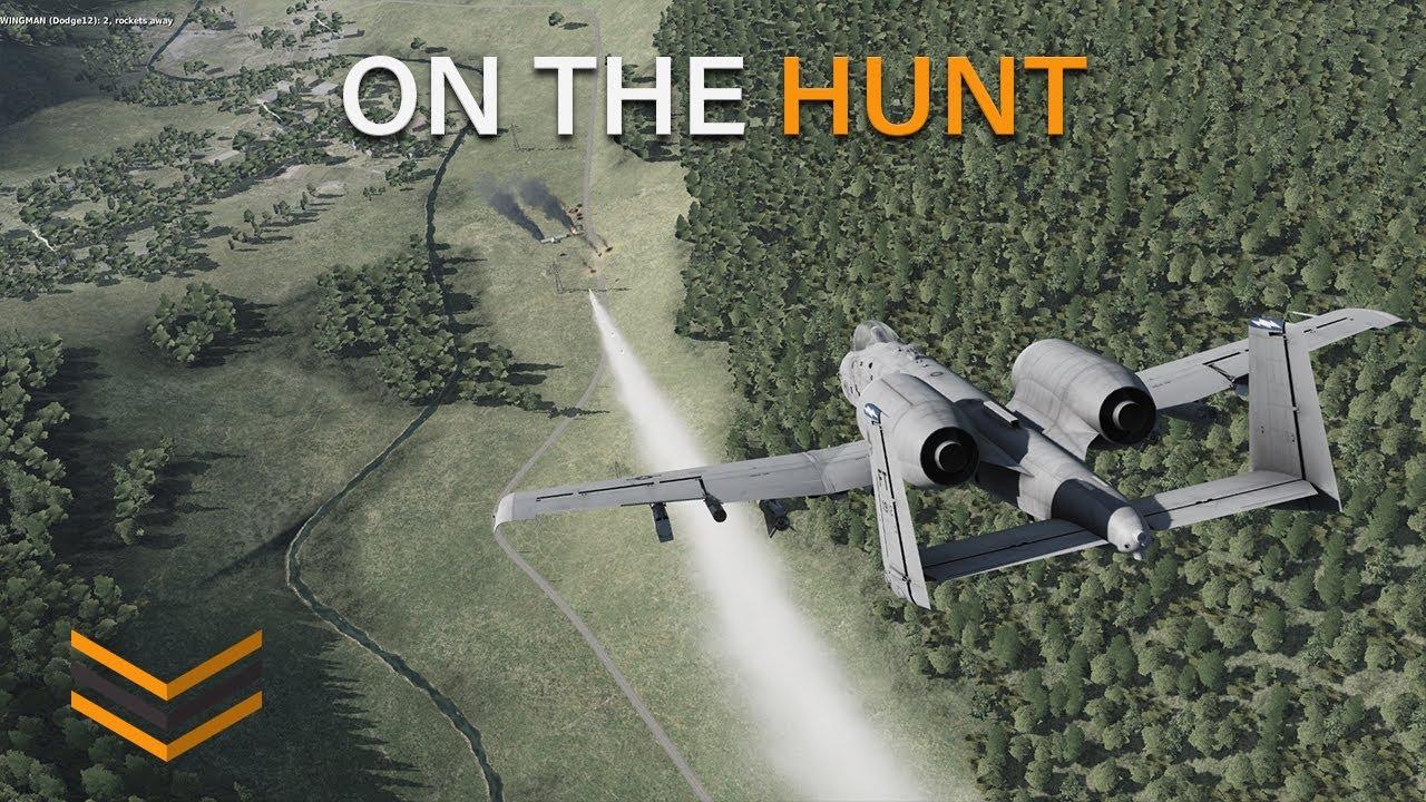 DCS World   A-10C   On the hunt
