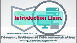 Introduction au Linux (KHALID KATKOUT)