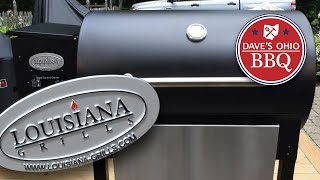 LG 900 Pellet Grill by Louisiana Grills from Costco - Assembly and Features