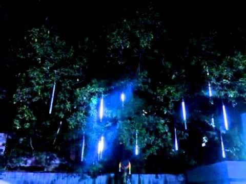 Weihnachtsbeleuchtung Eiszapfen Lauflicht.Led Schneefall Eiszapfen 18 99
