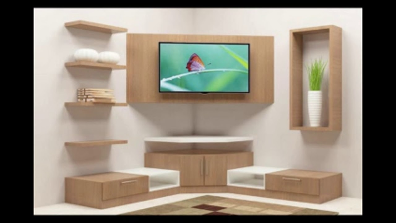 Corner Tv Stand With Showcase Designs For Living Room ...