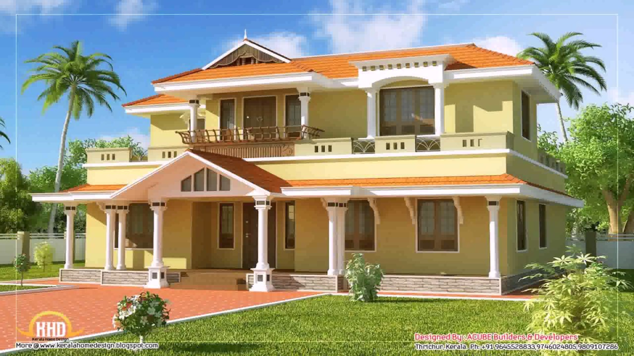 House Plans Tamilnadu Traditional Style Youtube