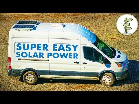 Simple Camper Van Solar Power with the Kodiak Generator - Van Life