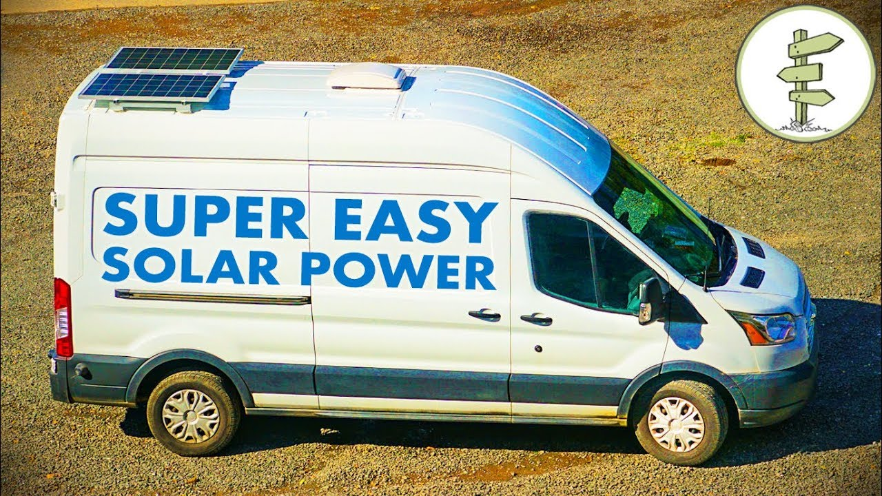 Simple Camper Van Solar Power with the Kodiak Generator - Van Life