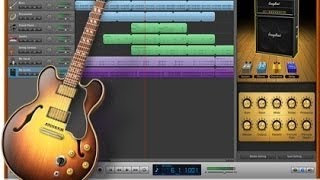 BLUES on your Ipad...Make your own 12 bar Blues using Garage...
