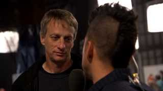 Tony Hawk visits BattleBots