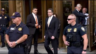Web Video Extra: Michael Cohen Leaves New York Courtroom Following Guilty Plea