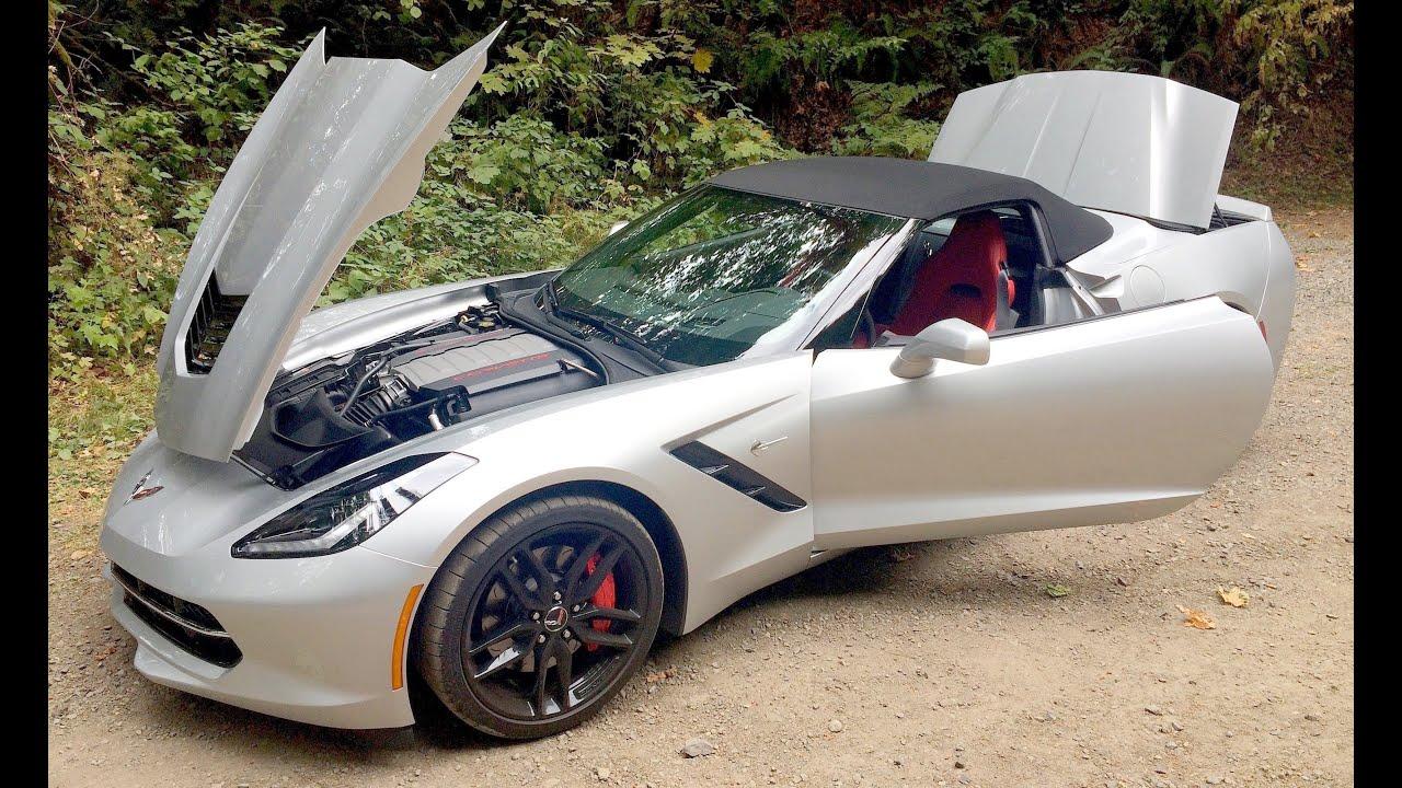 2017 Corvette Stingray Z51 Convertible 8at Worth It
