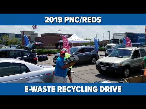 [ELECTRONICS RECYCLING] Highlights: 2019 PNC/Reds E-Waste Drive