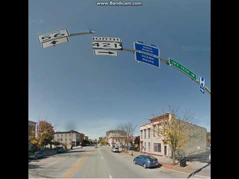 Google Maps Streetview Player: Bedford, KY to Versailles, IN