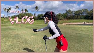 [하와이 일상 VLOG]현지인의 일상 - 골프라운딩, …