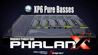Vengeance Producer Suite - Phalanx XP6: Pure Basses Demo