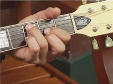Play D7 Chord In 1st Position On The Guitar 3rd Inversion Guitar