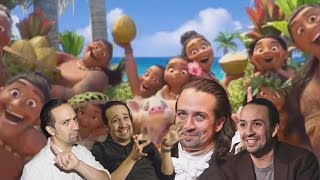 Where You Are but Everyone is Voiced by Lin-Manuel Miranda