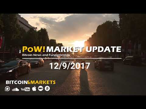 """Fundmentals Confirming Price Increase"" - Bitcoin and Markets - 12/9/2017"