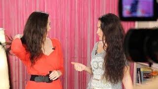 видео Мой уход за волосами, укладка. Тонкие волнистые волосы, сухие кончики