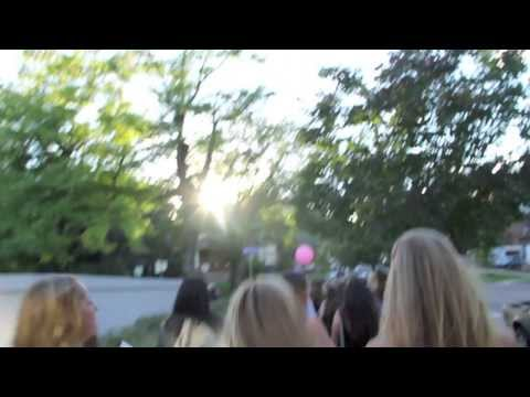 CU Boulder Pi Beta Phi Bid Day 2013