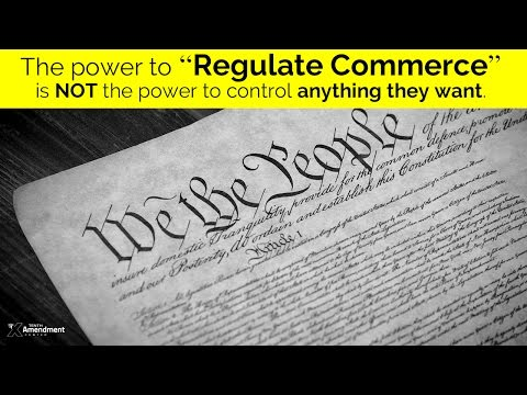 """The """"Commerce Clause"""" in 2 Minutes"""