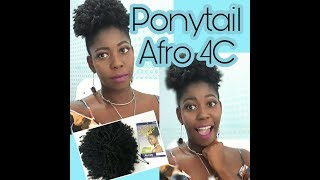 OUTRE PONYTAIL AFRO 4C - BY GLAUCIA VALERIA