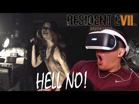 GIRL PUT THAT KNIFE DOWN! | Resident Evil 7 [Playstation VR](CRAZY)