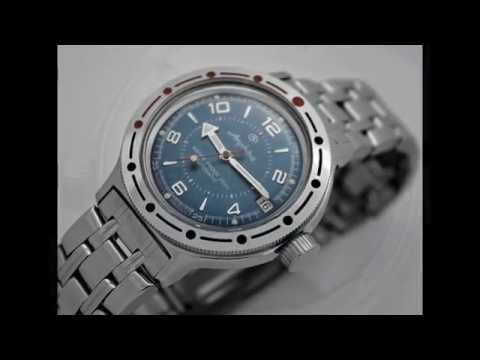 Russian Automatic Military Watch Vostok Amphibian 2416