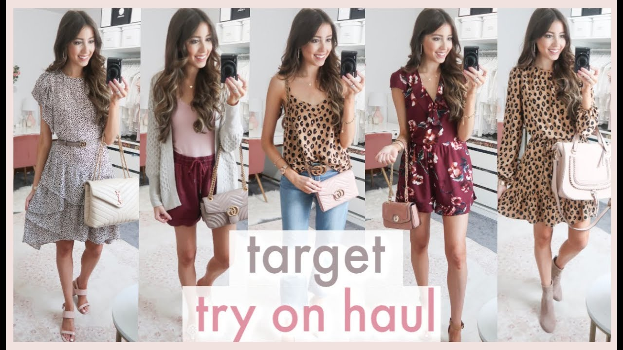 huge target try on haul 2019 | PRE FALL OUTFIT IDEAS 2