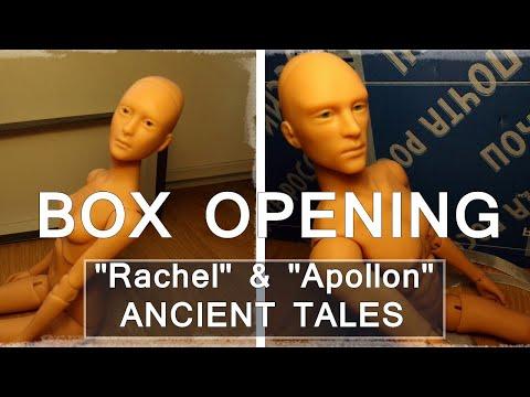 BJD Box Opening # 21 - ANCIENT TALES (russian BJD artist)