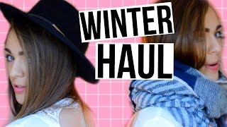 Winter Try On Haul! Forever 21, H&M, Maurices, Amazon, Charlotte Russe | Nichole Jacklyne