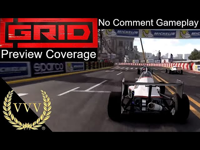 GRID Preview - No Comment Gameplay