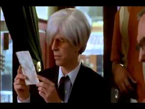 David Bowie as Andy Warhol-Basquiat (1996)