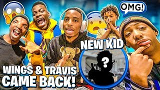 WINGS & TRAVIS CAME BACK & WERE ADDING NEW KIDS!