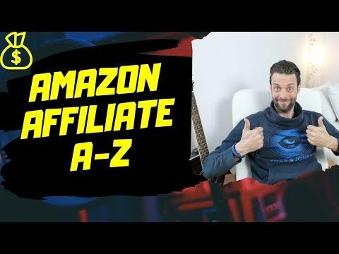 Amazon Affiliate Marketing Deutsch A-Z Link+ID erstellen - Tutorial thumbnail