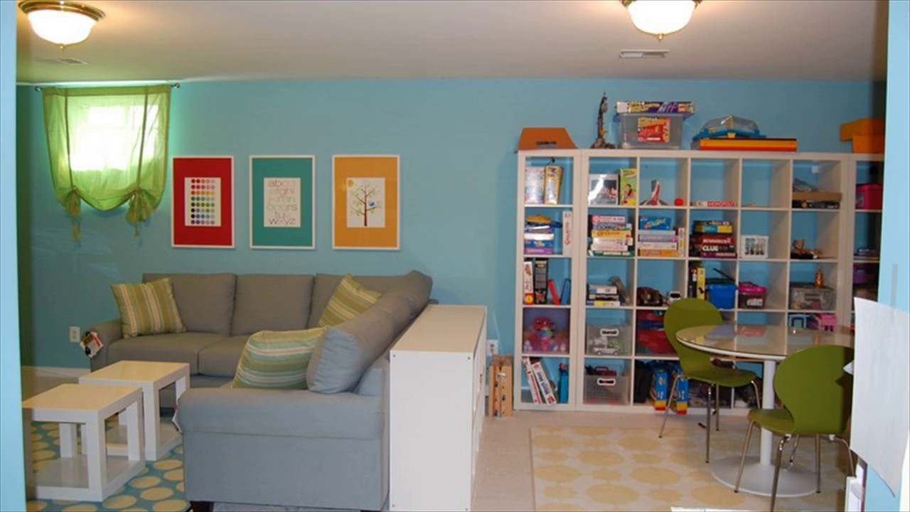 Basement Playroom Design Ideas - YouTube