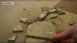 Katastrofální lepení vinylové podlahy na válečkovací lepidlo a příprava podkladu