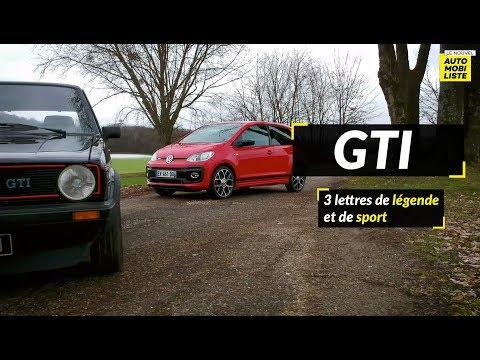 Comparatif GTI : Volkswagen Up! vs Golf 1