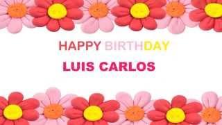 LuisCarlos   Birthday Postcards & Postales - Happy Birthday LuisCarlos