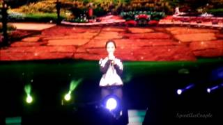 [FanCam] 01.11.14 : Race Start 2 Malaysia. Song Ji Hyo - Scent of Flower