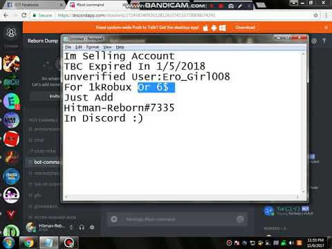 Selling Roblox Account Youtube - roblox account selling discord