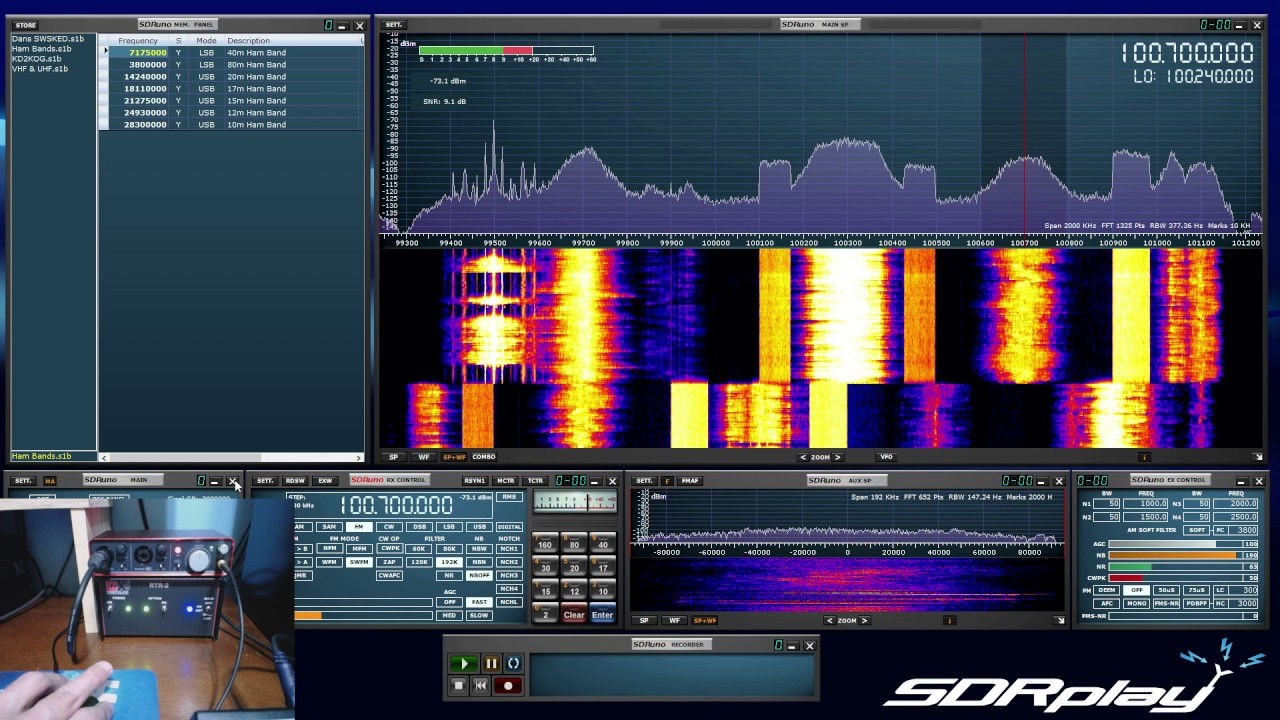 SDRplay RSP with the DX Engineering RTR-2