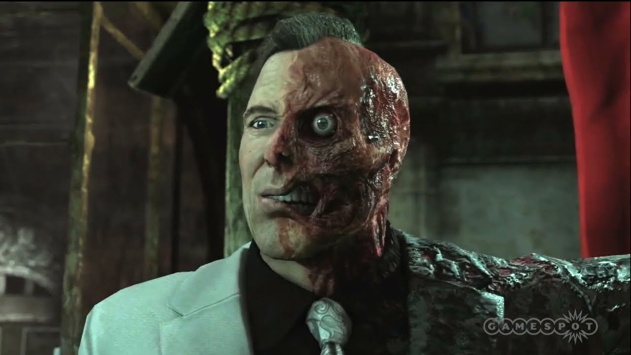Batman: Arkham City - Two-Face Judgment Cut Scene (PS3 ...