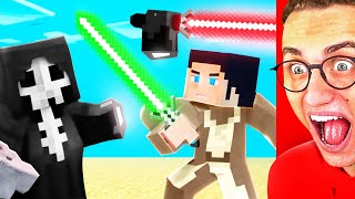 Reacting To THE BEST MINECRAFT STAR WARS ANIMATION!